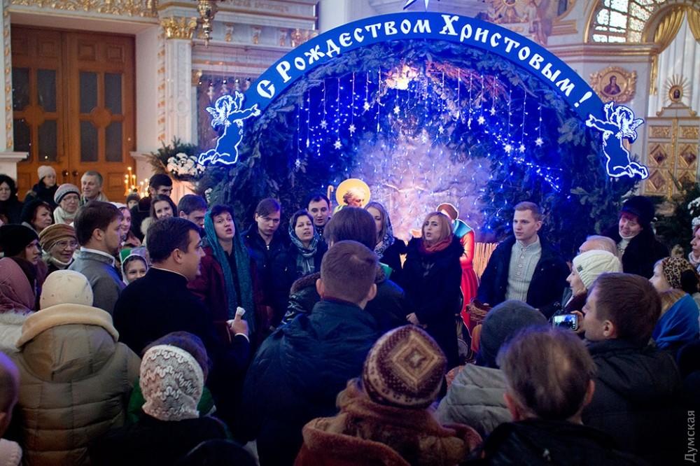 Рождество Христово в Одессе 2018
