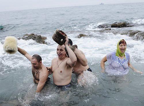 крещение в Одессе