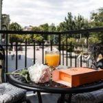 Номер с балконом в отеле Дерибас